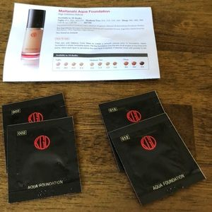 Koh Gen Doh Maifanshi Aqua Foundation Samples
